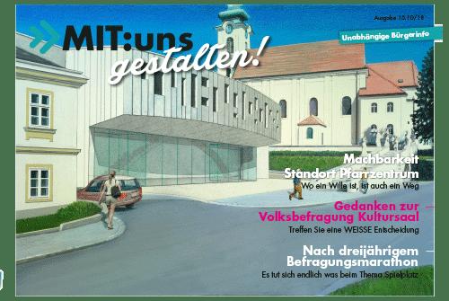 MIT:uns gestalten 10/18